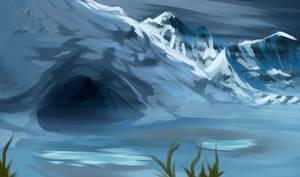 speedpaint 1 - sabu's cave by noebelle