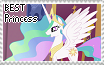 Best Princess! (Stamp) by Omi-New-Account