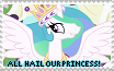 All Hail Princess Celestia! by Omi-New-Account