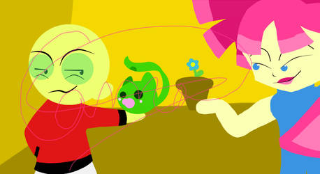 PinkPong, Leafmon and Kimiko