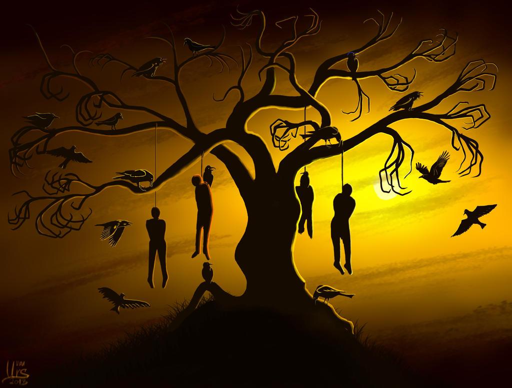 Gallows Tree Or A Ravens Dream By Cuchiples On Deviantart