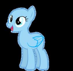 Happy Pony Base by Pr1m