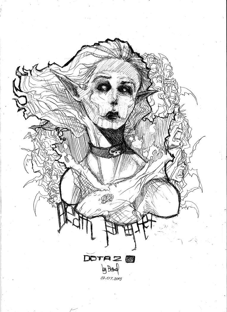 Death Prophet - DOTA2 Fanart by KuraKaminari on DeviantArt