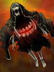 Fanart Wraith Dead Ragnarok by KuraKaminari
