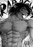 Fanart Titan Eren - Attack on Titan by KuraKaminari