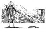 Armoured Huntress I by KuraKaminari