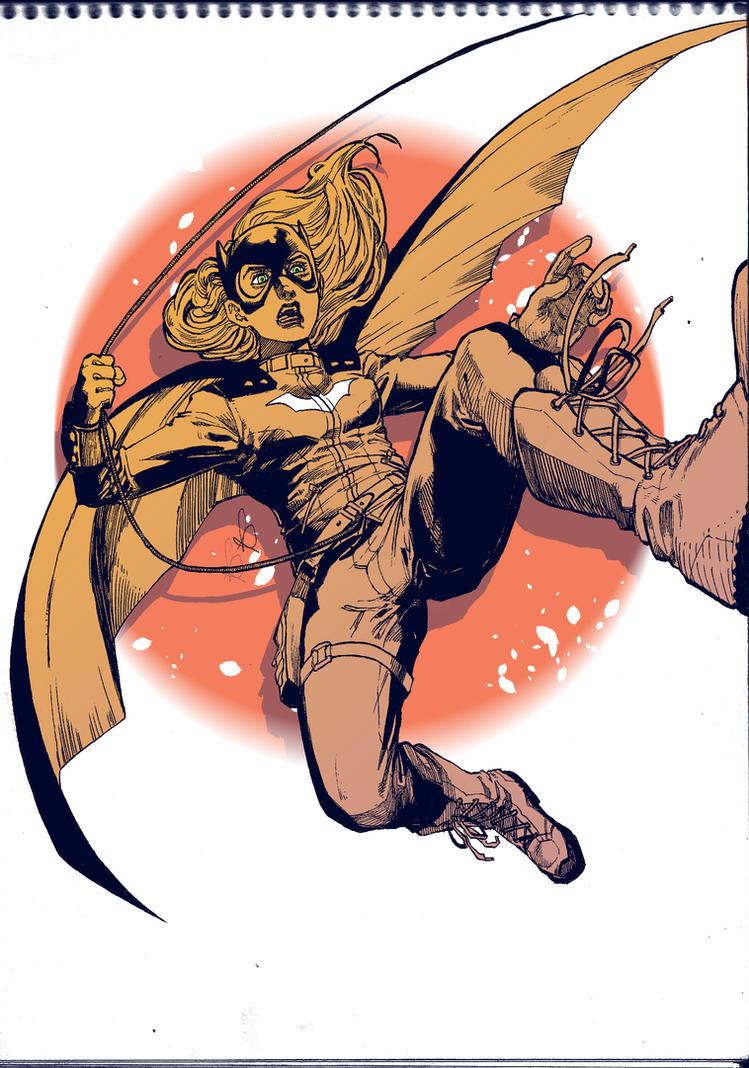 Fanart Batgirl by KuraKaminari