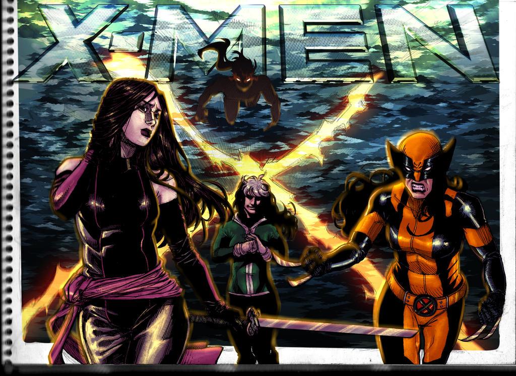 X-MEN Gals by KuraKaminari