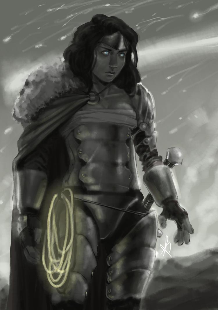 Warrior Diana Prince by KuraKaminari