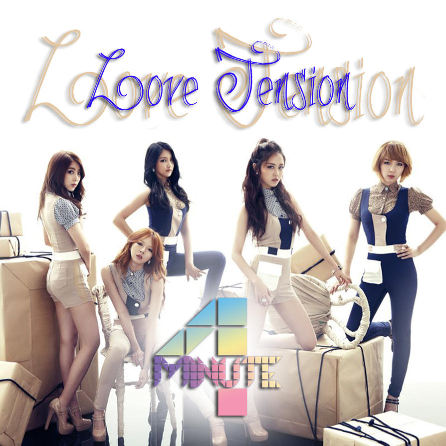 4MINUTE - LOVE TENSION ALBUM LYRICS