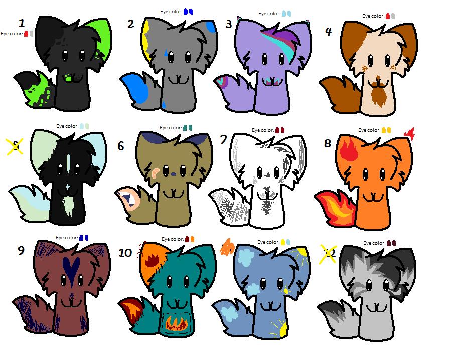 Adopts Batch ((Kitties!)) by BLlNK