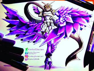 Purple Plumage by KimikoGlaciem