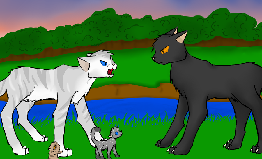 Please   no    by HollymistWarrior Cats Ivypool And Breezepelt