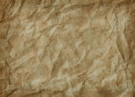 Texture - Crumpled Paper (Brown) by humphreyhippo