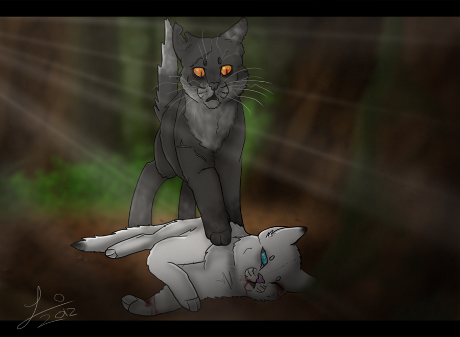 Warrior Cats Thistleclaw And Snowfur Snowfur__s_death_by_hoverpelt- ...