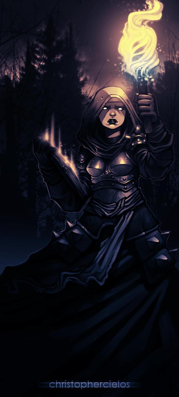 Darkest dungeon   vestal by christophercielos daw6gca