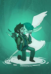 Siegfried and the Swan by dodobirdsong