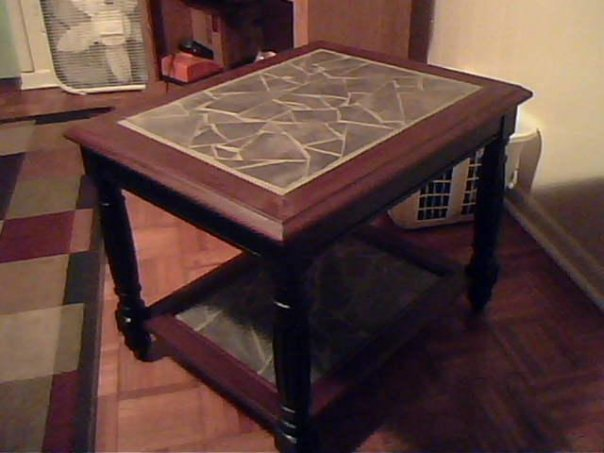 Etonnant Mosaic End Table By Urkelbot666 ...