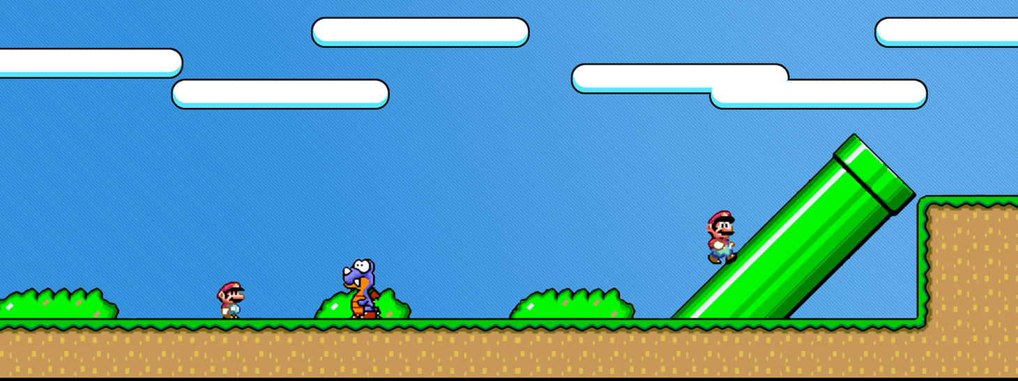 Super Mario World by h8crime