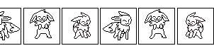 Frames of Dancing Eevee by Aluri