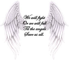 Angels save us all by JSyas