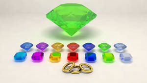 emeralds and rings