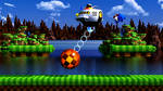 Green Hill Zone boss (8K) by WinderBlitz