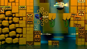 Labyrinth zone boss (8K) by WinderBlitz