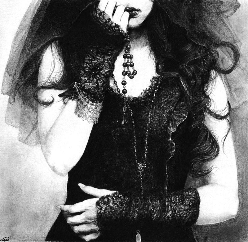 Cursed black pearls by Sugar-H