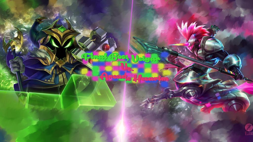 Arcade hecarim vs Final Boss Veigar by ElamGraphics on ...