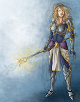 Commission- LoL: Lux by PhantomStalker