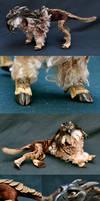 Goat+Pangolin+Harpy Eagle