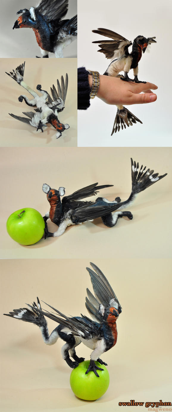 More Info - Swallow Gryphon by Magweno