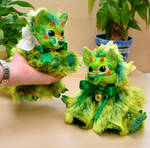 Exotic Dragon Foxes