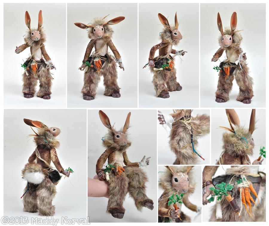 Rabbit Shaman by Magweno