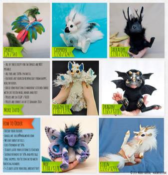Resin Doll Price Sheet by Magweno