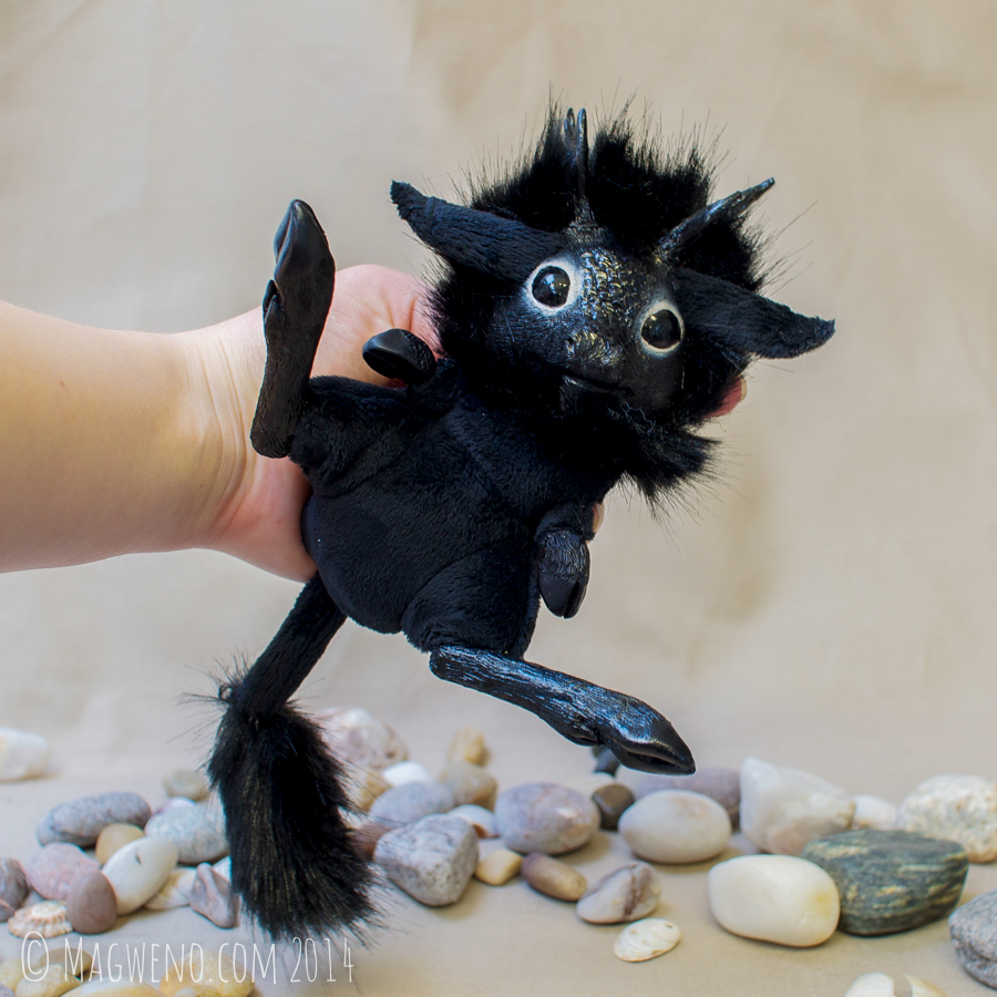 Jytte the Black Kirin by Magweno