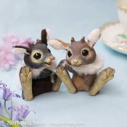 Psst! Custom jackabunnies available! by Magweno
