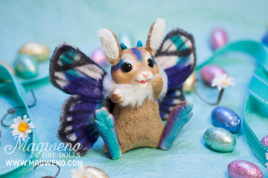 Purple Flutterbunny by Magweno