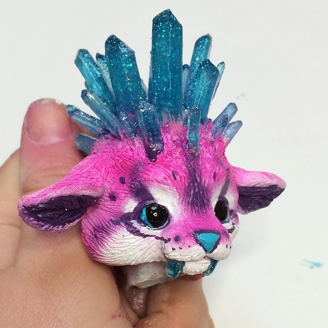 Crystal Kitty WIP by Magweno