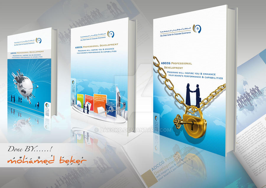 PRESENTATION BOOKLET COVERS by bakoko
