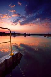 sunny lake by BOsKiKroKodyL