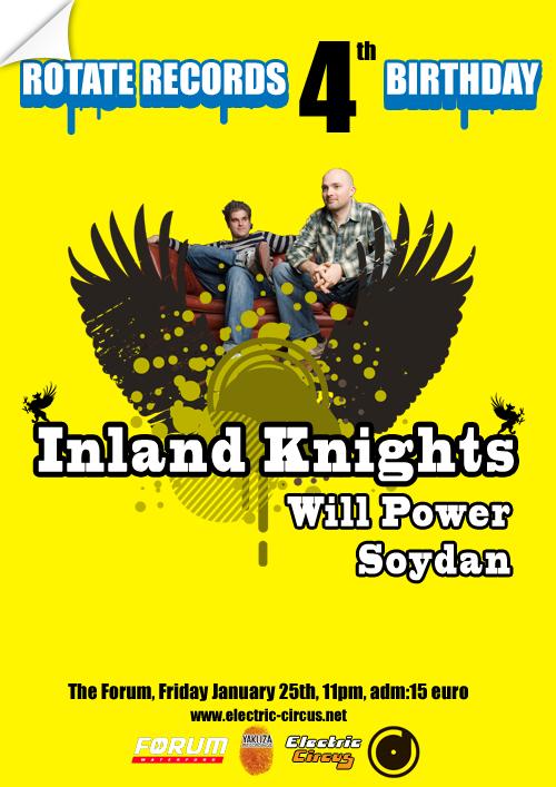 Inland Knihgts Poster by matu666
