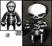 Skull Character FreakArena by Pliavi