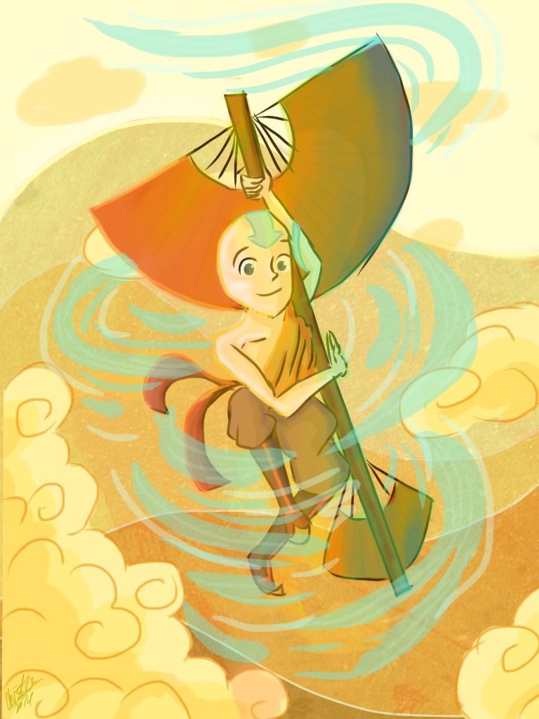 Avatar Aang by Giant-cheeseburger