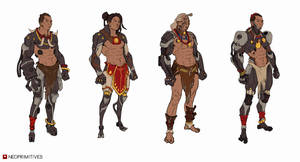 Pit fighter concepts by mercikos