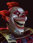 Evil clown commission
