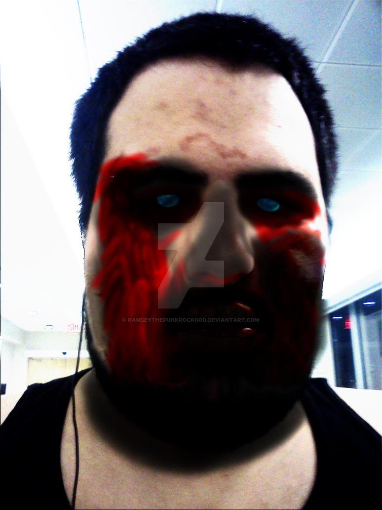 I'm now a demon/zombie. by RamseyThePunkRockGod