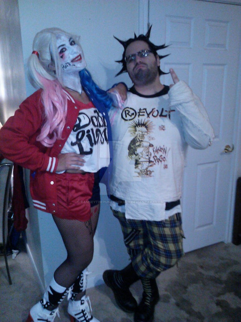 Me and my sis as Harley Quinn by RamseyThePunkRockGod