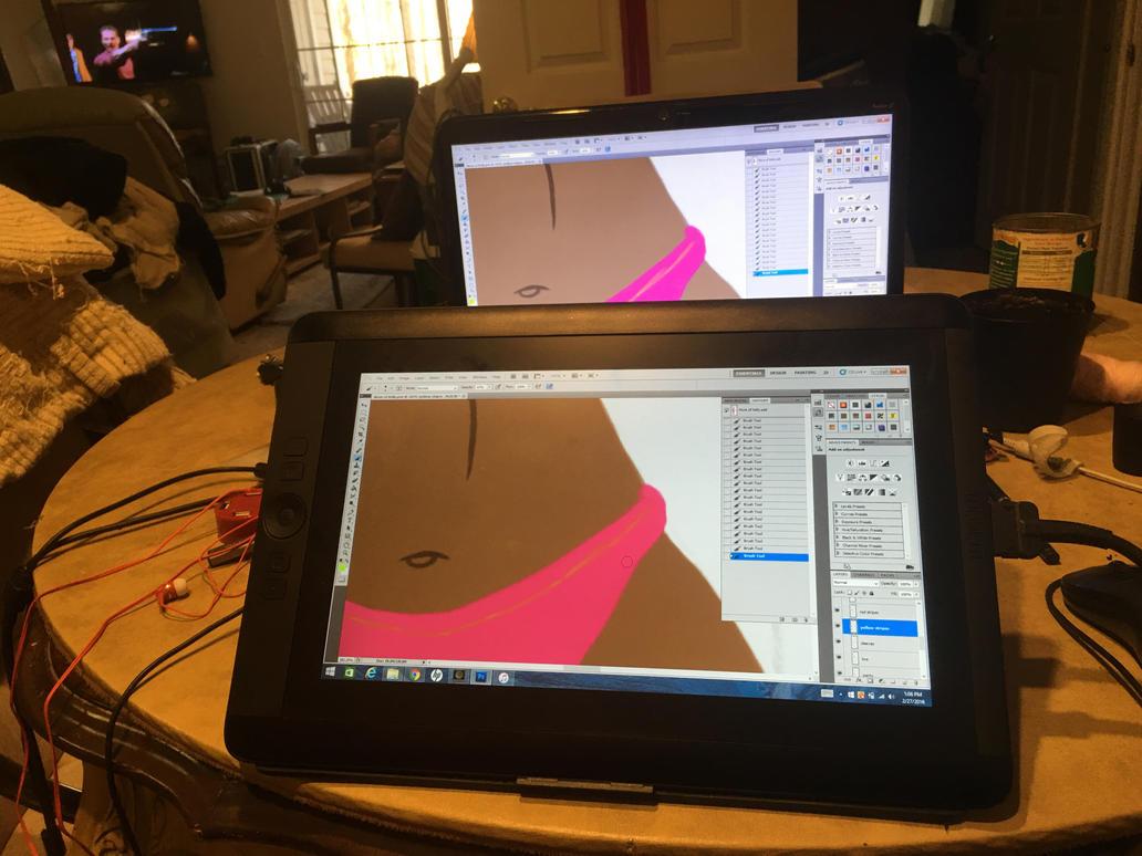 My new Wacom tablet :D by RamseyThePunkRockGod